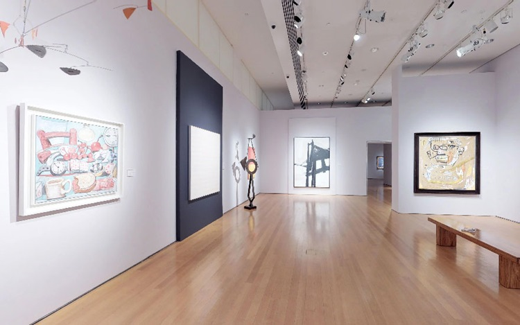Virtual tour: 20th Century at  auction at Christies