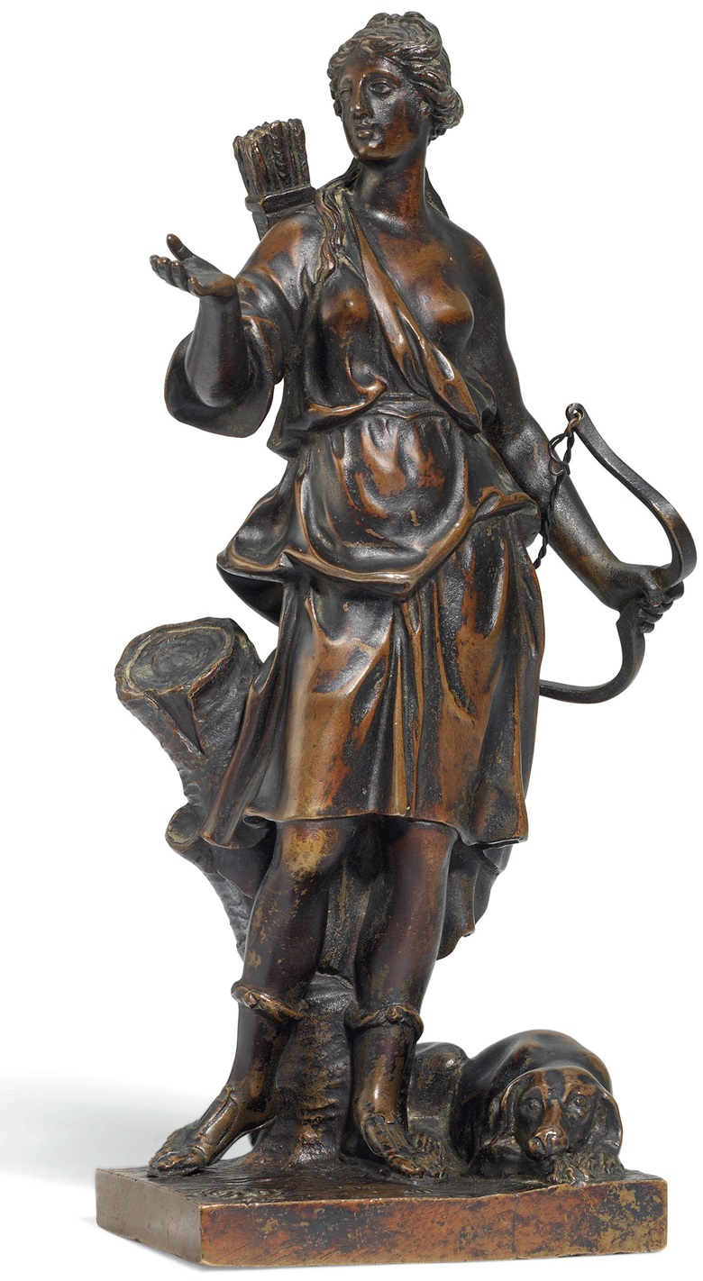 Atalanta, after a model by Gabriel Grupello (1644-1730), 18th century. 8¾ in (22.3 cm) high. This lot was offered in European Sculpture on 6 December 2017 at Christie's London