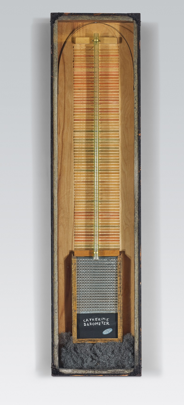 Man Ray (1890-1976), Catherine Barometer, executed in 1920; unique. Depth 2⅛ in (5.9 cm). Estimate $2,000,000-4,000,000. This lot is offered in the Impressionist & Modern Art Evening Sale on 13 November 2017  at Christie's in New York