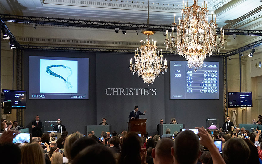 Christie's celebrates 24 years as jewellery market leader