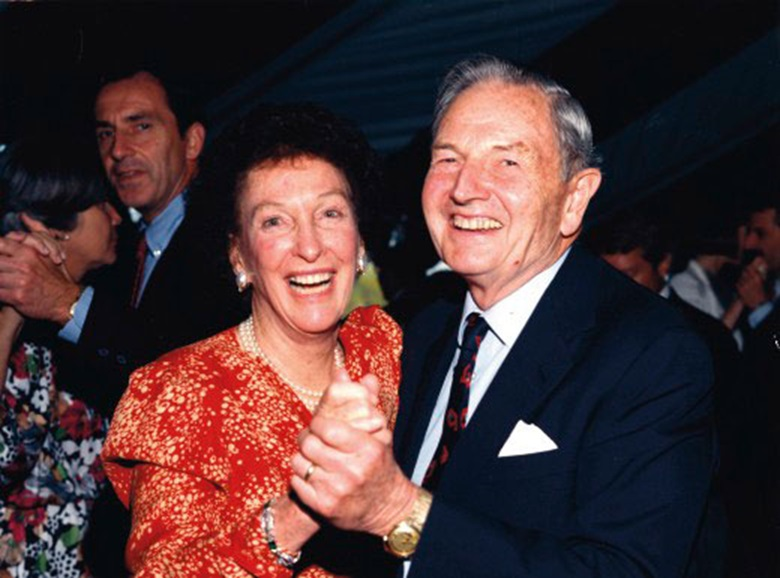 David and Peggy Rockefeller were married for 56 years