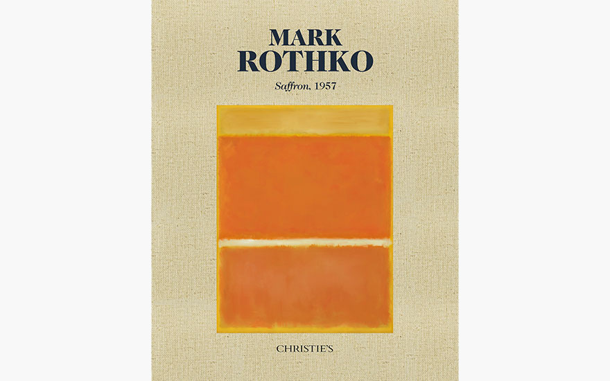 Special Publication: Mark Rothko, Saffron, 1957