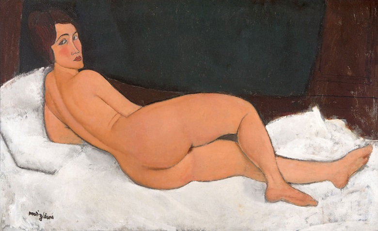 Amadeo Modigliani (1884-1920), Nude, 1917. Oil on canvas. 890 x 1460 mm. Private Collection