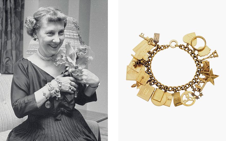 A charm bracelet that tells a