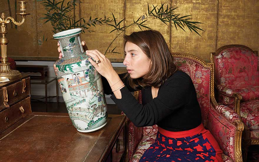 Christie's Asian Art specialist Camille de Foresta takes a closer look at two porcelain famille verte  vases