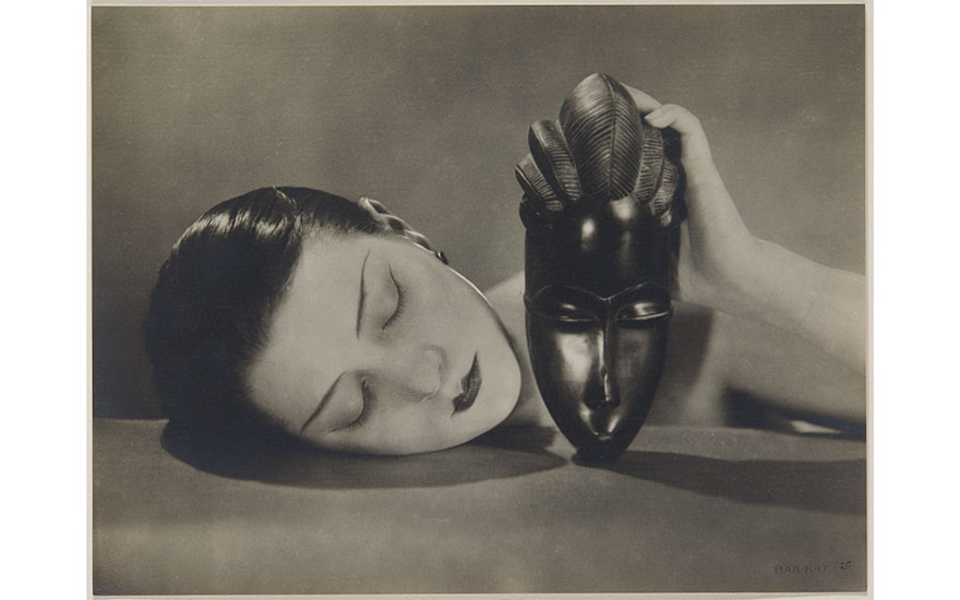 Man Ray (1890-1976), Noire et Blanche, 1926 © Man Ray TrustADAGP, Paris and DACS, London 2017. Sold for €2,688,750 on 9 November 2017 at Christie's in Paris