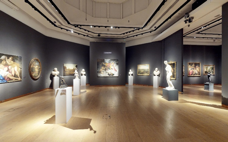 Virtual tour: Old Masters at C auction at Christies