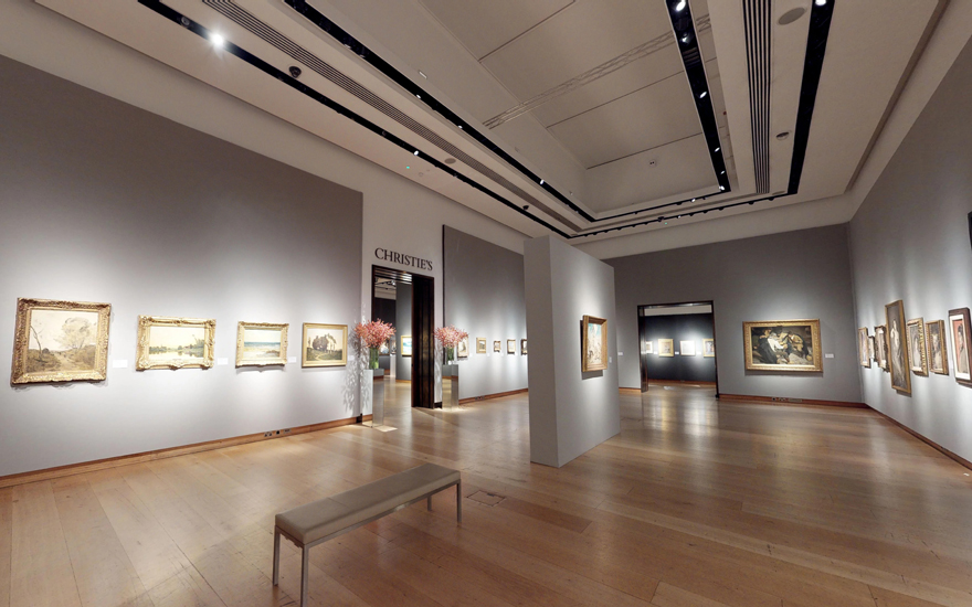 Virtual tour: 19th century art