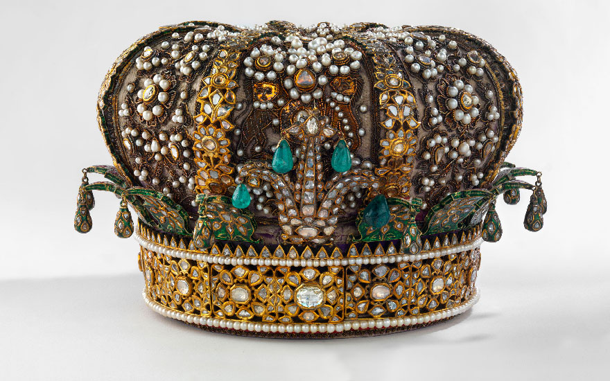 An Indian crown, circa 1875. Photo Royal Collection Trust  © Her Majesty Queen Elizabeth II 2017