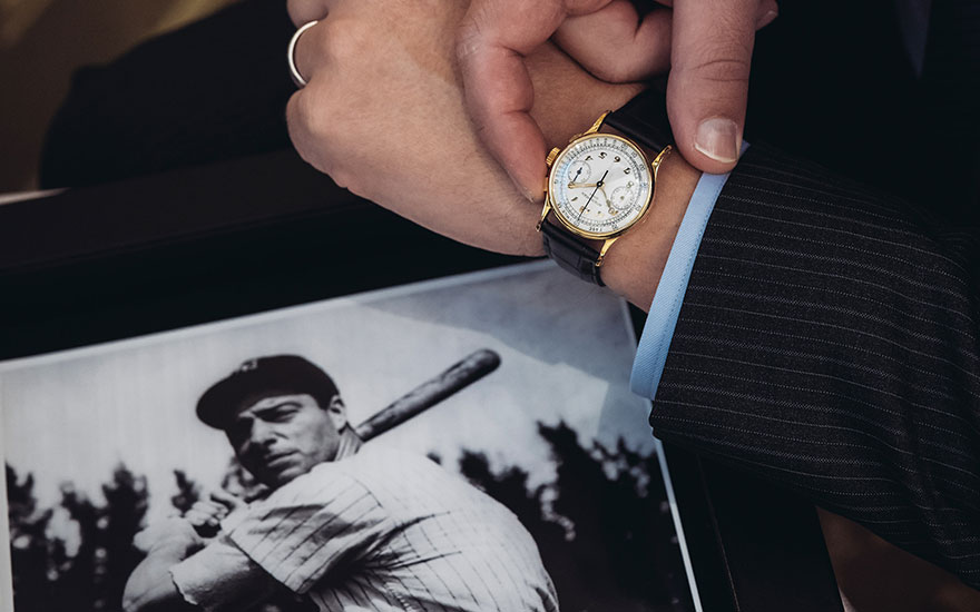 5 minutes with... Joe DiMaggio