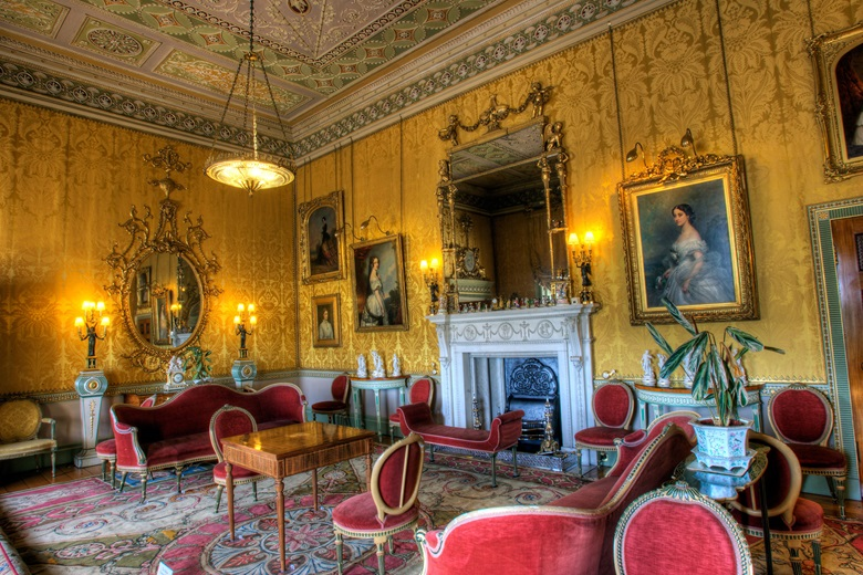 The Yellow Drawing Room at Harewood House © Harewood House Trust