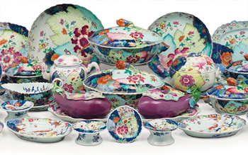Chinese Export porcelain from  auction at Christies