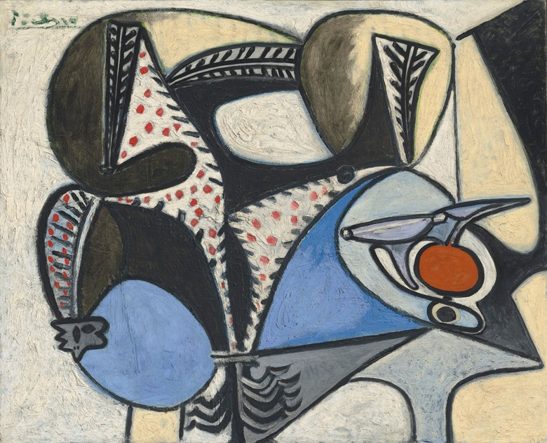 Pablo Picasso (1881-1973), Le coq saigné, 1947-48. 31⅞ x 39⅜  in (81 x 99.9  cm). Estimate £2,200,000-2,800,000. This lot is offered in the Impressionist and Modern Art Evening Sale  on 27 February 2018  at Christie's in London