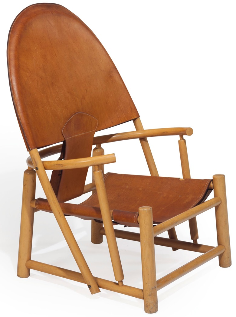 Werther Toffoloni (1930-2017) and Piero Palarge, a Hoop chair, designed 1972. 42¼ in (107.3 cm) high. Sold for $2500, 14 Feb 2018, Online