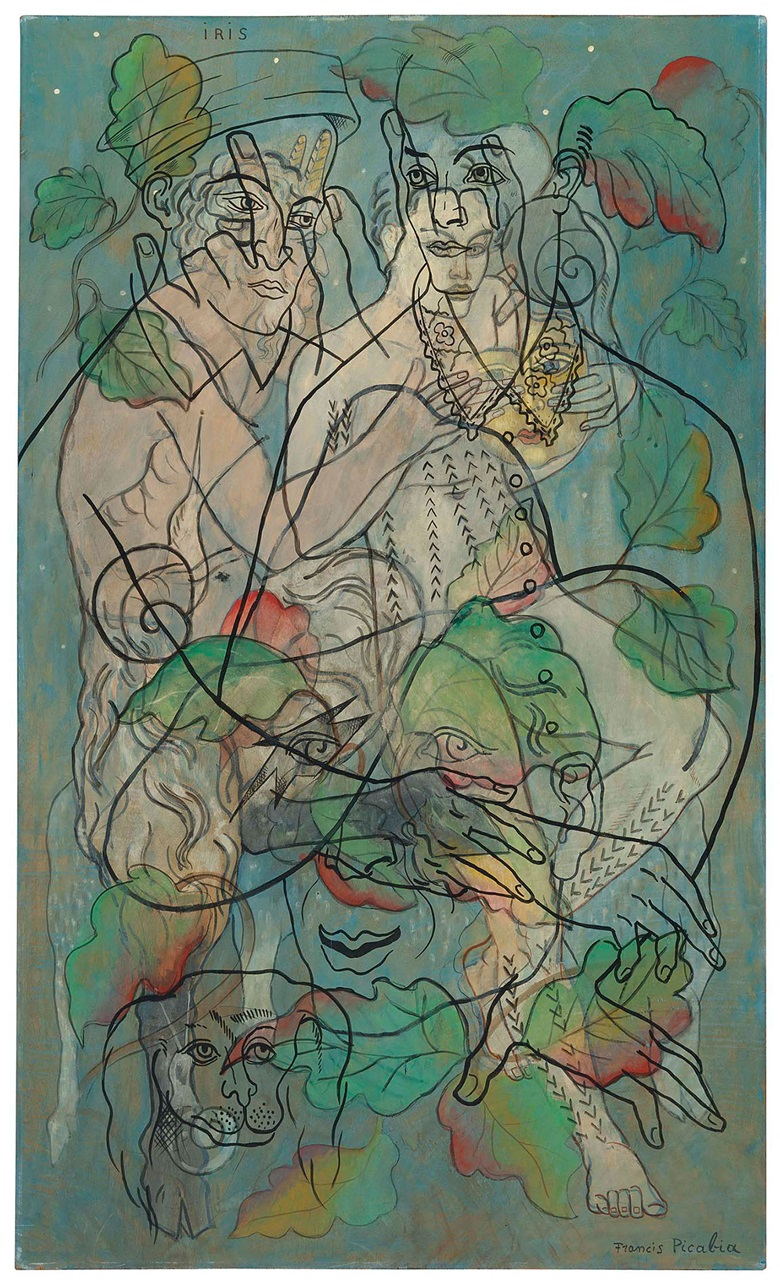 Francis Picabia (1879-1953), Iris , painted circa 1929. 63⅛ x 37¾  in (160.8 x 96  cm). Estimate £800,000-1,200,000. This lot is offered in The Art of the Surreal Evening Sale on 27 February 2018  at Christie's in London