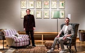 Two interiors designers, 289 l
