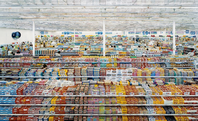 Andreas Gursky 99 Cent II Diptych 2001 C Print Each 206