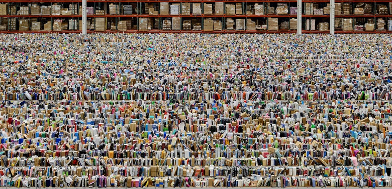 Andreas Gursky, Amazon, 2016. Inkjet-Print 207 x 407 x 6.2 cm. © Andreas GurskyDACS, 2017 Courtesy Sprüth Magers