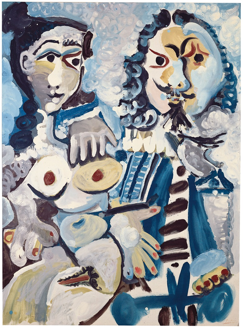 Pablo Picasso (1881-1973), Mousquetaire et nu assis, 1967. 51¼ x 37⅞  in (130 x 96.5  cm). Estimate £12,000,000-18,000,000. This lot is offered in the Impressionist and Modern Art Evening Sale  on 27 February 2018  at Christie's in London