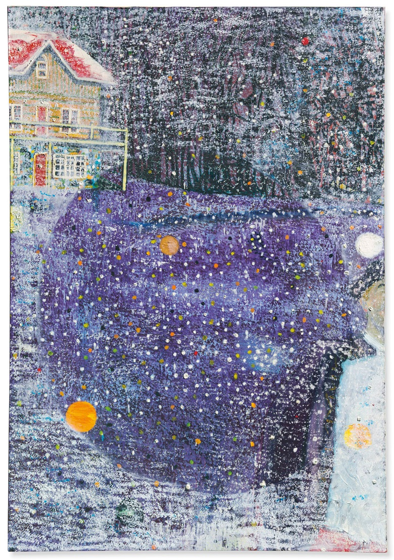 Peter Doig (b. 1959), Charleys Space, 1991. 72 x 50 in (183 x 127 cm). Estimate £6,000,000-8,000,000. This lot is offered in the Post-War and Contemporary Art Evening Auction on 6 March 2018  at Christie's in London