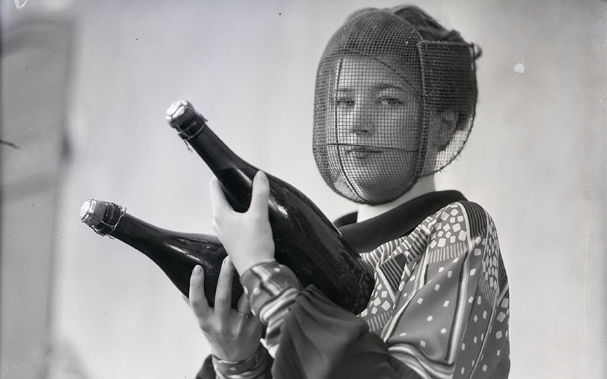 A female Champagne Inspector in 1933. Photo © Bettmann  Getty Images