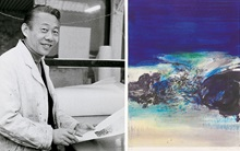 The prints of Zao Wou-Ki auction at Christies