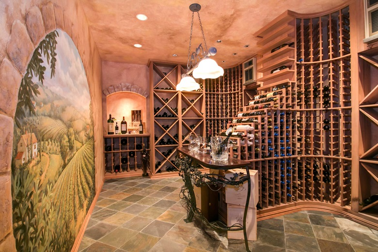Luxury Living: Unique Wine Rooms and Cellars  Christieu002639;s