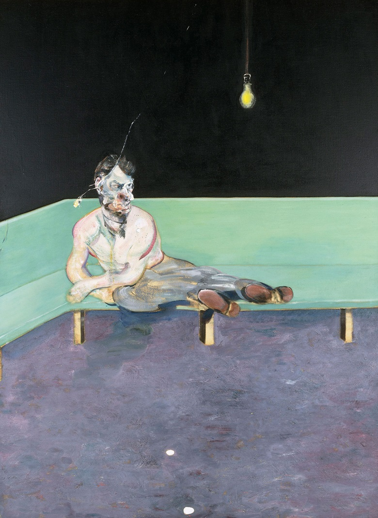 Francis Bacon (1909-1992), Study for Portrait of Lucian Freud, 1964. Oil paint on canvas. 1980 x 1476 mm. The Lewis Collection © The Estate of Francis Bacon. All rights reserved. DACS, London. Photo Prudence Cuming Associates Ltd