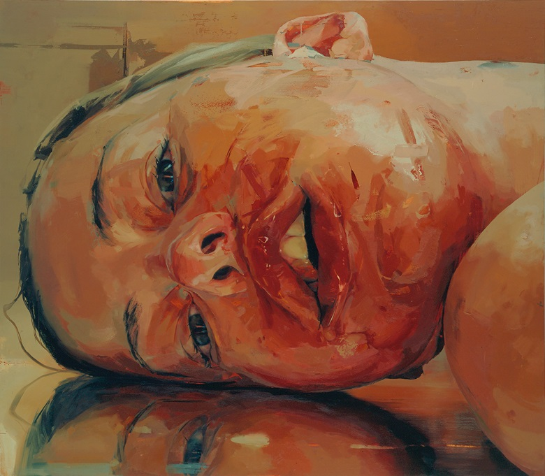 Jenny Saville (b. 1970), Reverse, 2002-03. Oil paint on canvas. 2134 x 2438 mm © Jenny Saville. Courtesy of the artist and Gagosian