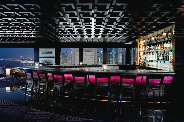 The M Bar at the Mandarin Oriental, in Central