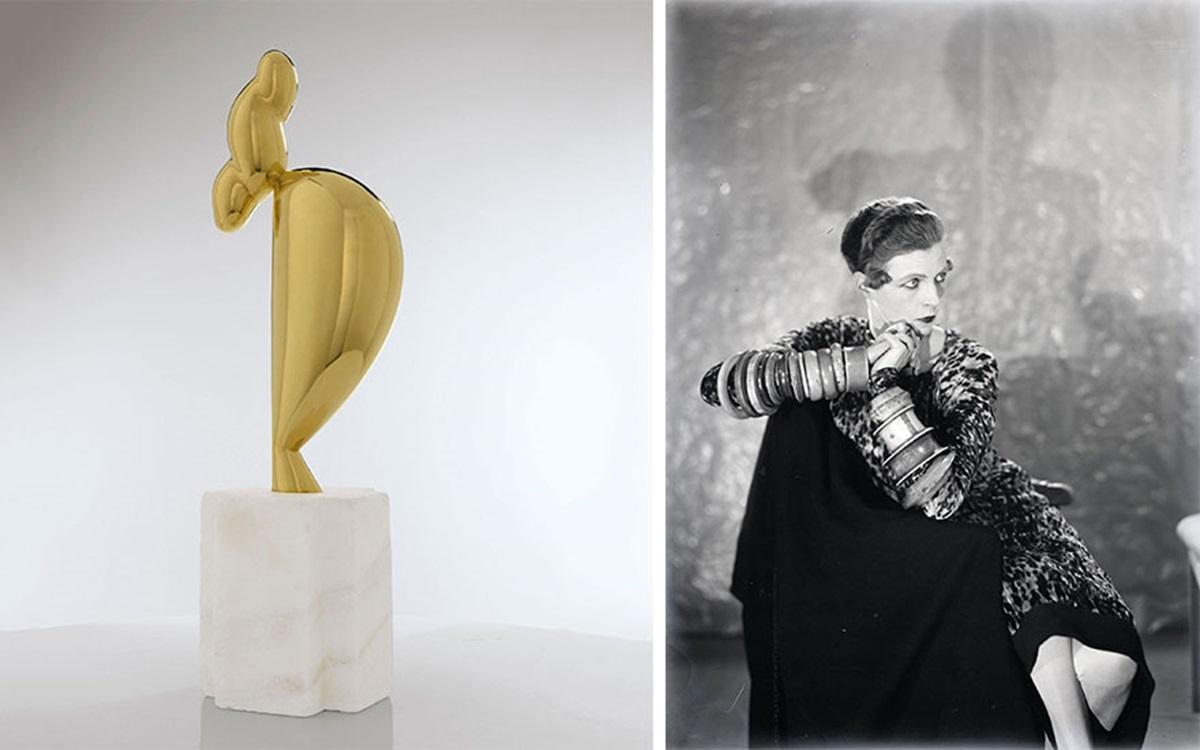 Constantin Brancusi's <em>La jeune fille sophistiquée (Portrait de Nancy Cunard)</em>