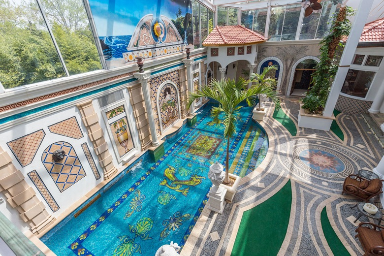 Luxury Living: Homes with murals and mosaics | Christie's