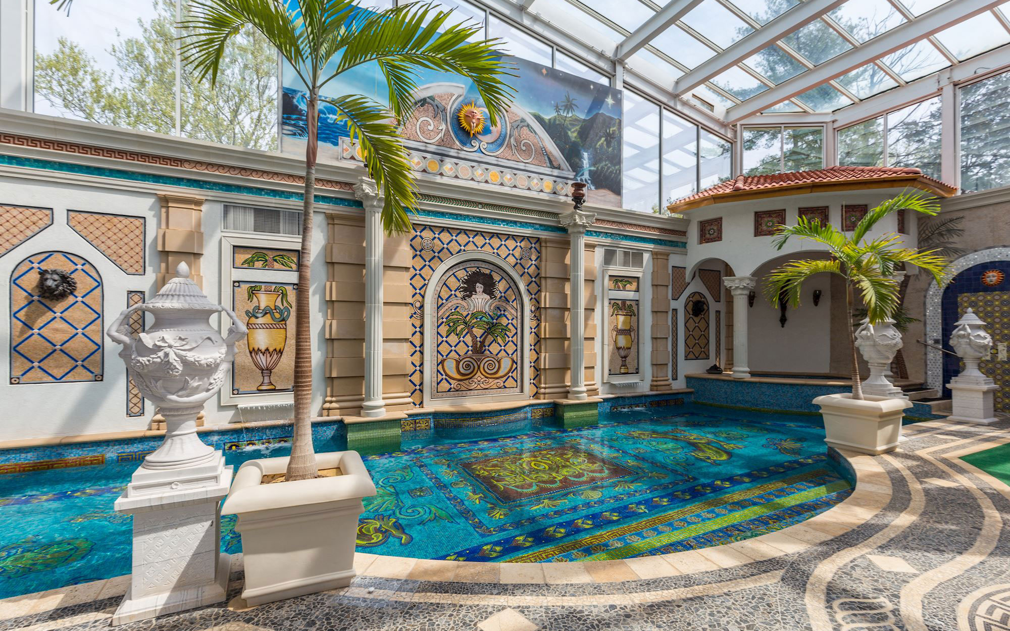 Luxury Living Homes with murals and mosaics