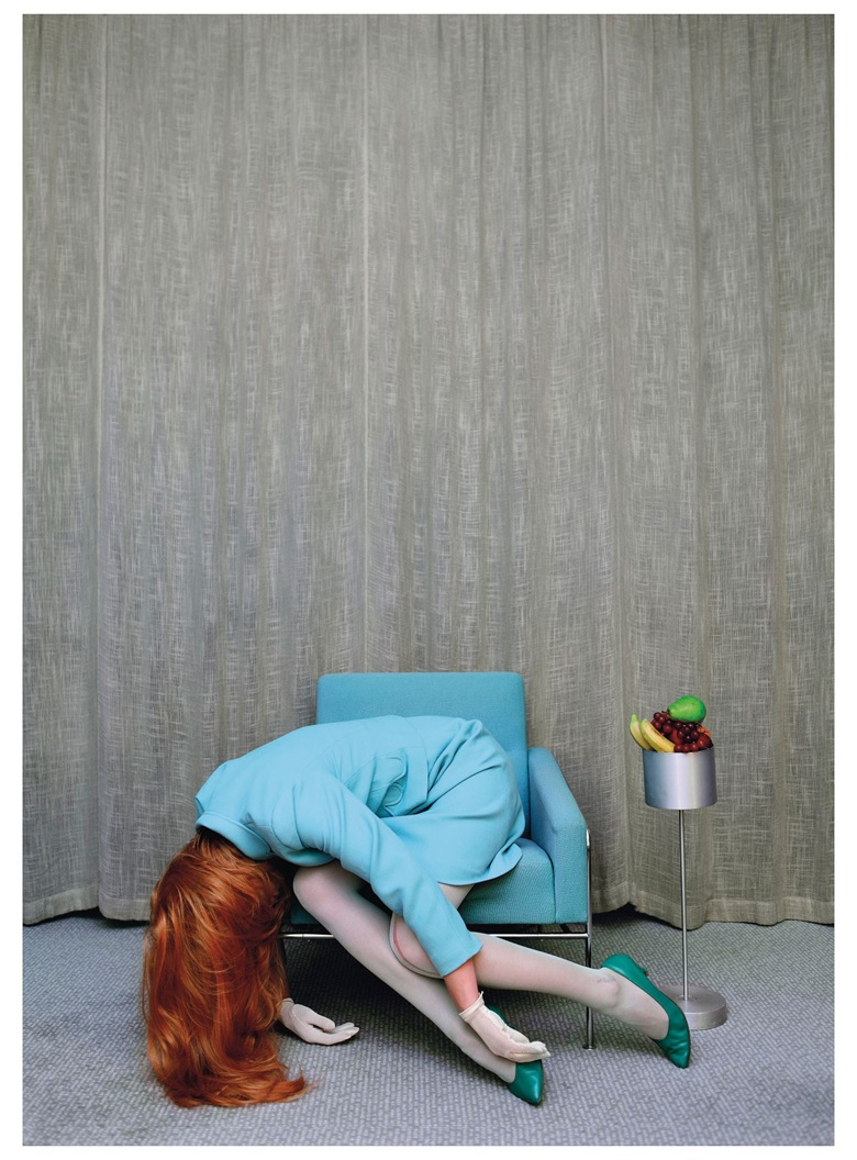 Anja Niemi (b. 1976), The Secretary, 2013. C-print. Image 39⅜ x 27½ in (100 x 70 cm). Sheet 46½ x 34¼ in (118 x 87 cm). Estimate £5,000-7,000. This work is offered in Photographs on 17 May at Christie's London
