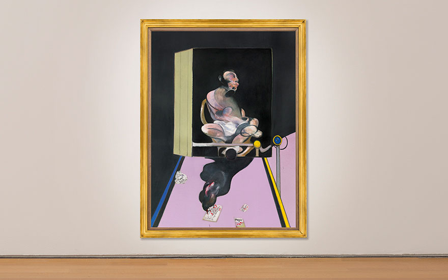 Francis Bacon's Study for Port