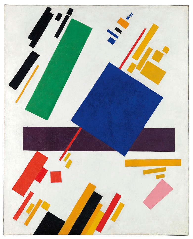 Property from an Important Collection. Kazimir Malevich (1878-1935), Suprematist Composition, 1916. Oil on canvas. 34⅞ x 28 in (88.7 x 71.1 cm). This work was offered in the Impressionist and Modern Art Evening Sale on 15 May at Christie's in New York and sold for $85,812,500