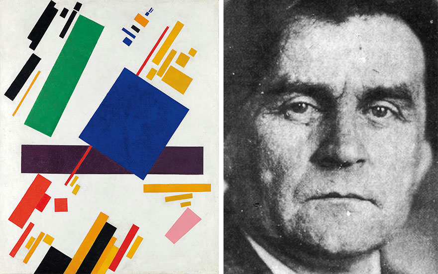 A leap into space: Malevich's