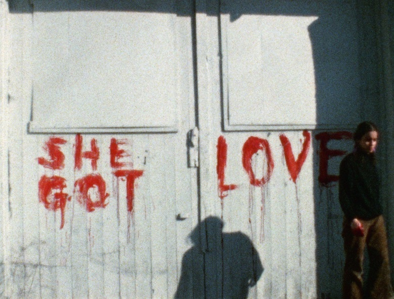 Ana Mendieta, still from Blood Writing, 1974 © The Estate of Ana Mendieta Collection, LLC., Courtesy Galerie Lelong & Co.