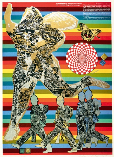Eduardo Paolozzi, As Is When Wittgenstein as Soldier, 1965 © Trustees of the Paolozzi Foundation, Licensed by VG Bild-Kunst, Bonn 2018
