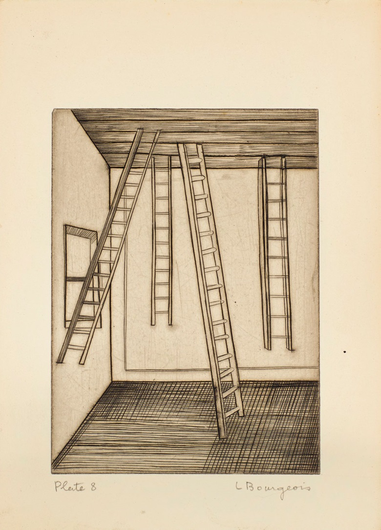 Plate 8, Louise Bourgeois (1911-2010), He Disappeared Into Complete Silence. Gemor Press, New York, 1947. Estimate (for the complete edition) $400,000-600,000. This lot is offered in Prints and Multiples on 20 April at Christie's in New York