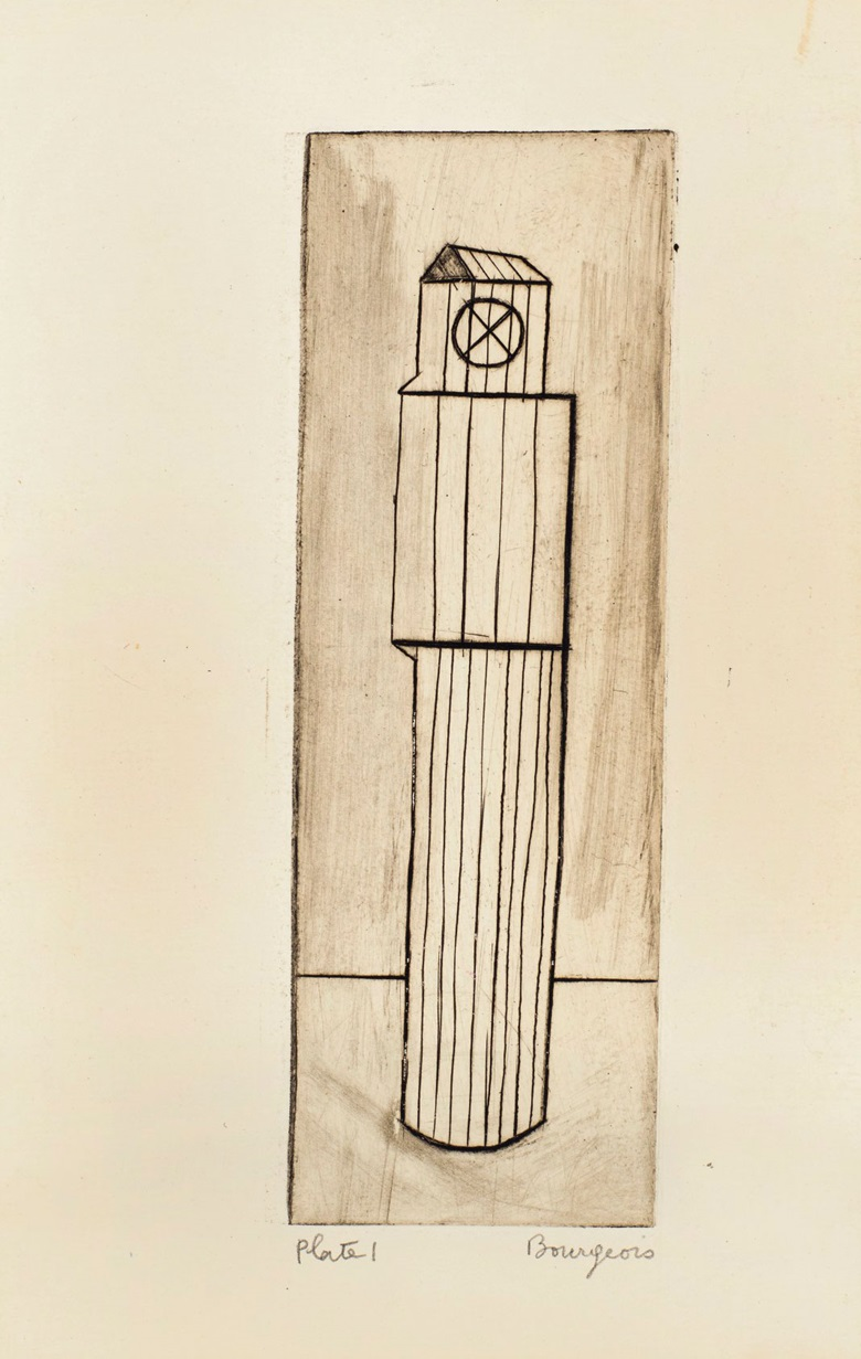 Plate 1, Louise Bourgeois (1911-2010), He Disappeared Into Complete Silence. Gemor Press, New York, 1947. Estimate (for the complete edition) $400,000-600,000. This lot is offered in Prints and Multiples on 20 April at Christie's in New York