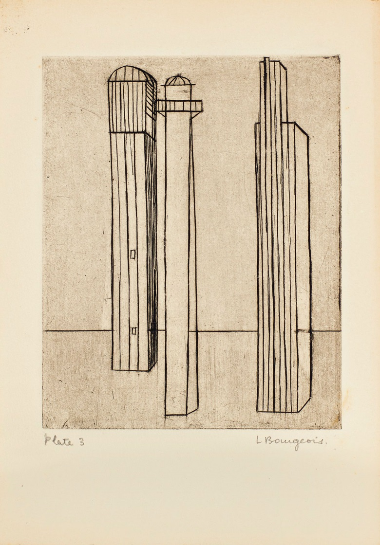 Plate 3, Louise Bourgeois (1911-2010), He Disappeared Into Complete Silence. Gemor Press, New York, 1947. Estimate (for the complete edition) $400,000-600,000. This lot is offered in Prints and Multiples on 20 April at Christie's in New York