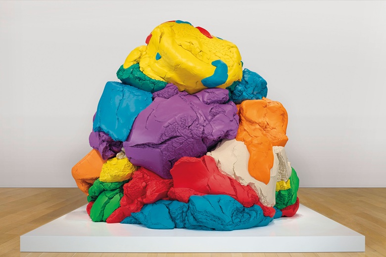 Jeff Koons (b. 1955), Play-Doh, 1994-2014. Polychromed aluminium. 124 x 152¼ x 137 in (315 x 386.7 x 348 cm). This work is one of five unique versions. Estimate on request. Offered in the Post-War and Contemporary Art Evening Sale on 17 May at Christie's in New York. Artwork © Jeff Koons