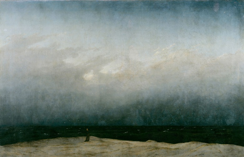 Caspar David Friedrich, Monk by the Sea, 1809. Photo            Scala, Florencebpk, Bildagentur für Kunst, Kultur und            Geschichte, Berlin