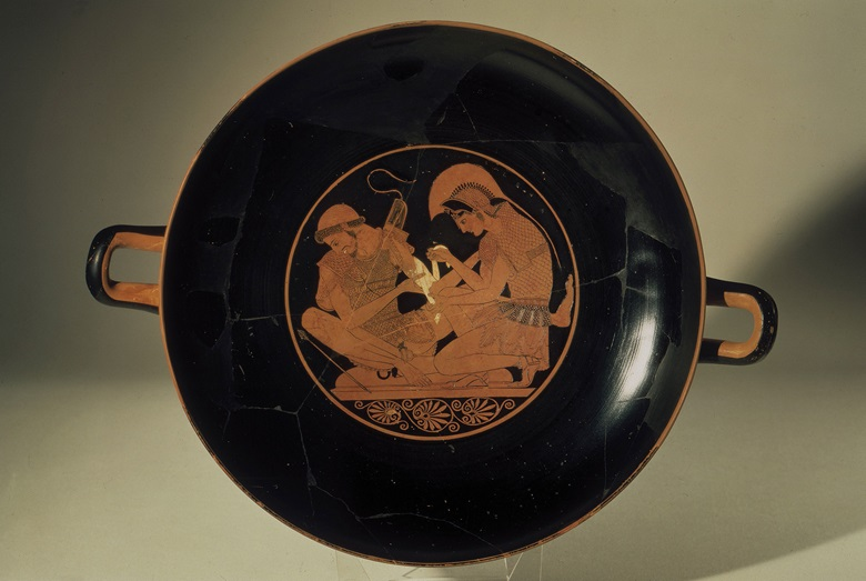 Drinking vessel by the potter Sosias, circa 500 BC. Photo            Scala, Florencebpk, Bildagentur für Kunst, Kultur und            Geschicht