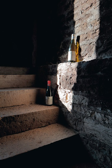The cellars at Domaine Comte Georges de Vogüé