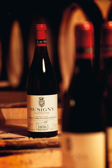 Comte Georges de Vogüé, Musigny Vieilles Vignes 1970. Grand Cru, Côte de Nuits. 12 bottles per lot. Estimate HK$85,000-110,000. Lot 5151. Offered in Fine & Rare Wines Direct from the Cellars of the Historic Domaine Comte Georges de Vogüé on 25 May at Christies in Hong Kong