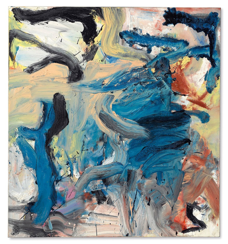 Willem de Kooning (1904-1997), Untitled XVIII, 1976. Oil on canvas. 59 × 55 in (151.1 × 139.7 cm). Estimate $8,000,000-12,000,000. Offered on 17 May in the Post-War and Contemporary Art Evening Sale at Christies in New York © 2018 The Willem de Kooning Foundation  Artists Rights Society (ARS), New York