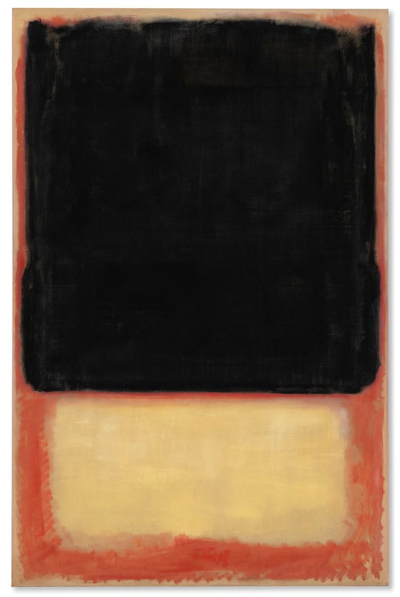 Mark Rothko (1903-1970), No. 7 (Dark over Light), 1954. Oil on canvas. 90⅛ x 58⅝ in. Estimate on request. This work is offered in the Post-War and Contemporary Art Evening Sale on 17 May at Christie's in New York © 1998 Kate Rothko Prizel & Christopher Rothko  Artists Rights Society (ARS), New York