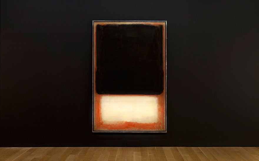 Mark Rothko (1903-1970), No. 7 ( Dark over Light), 1954. Oil on canvas. 90⅛ x 58⅝ in. Estimate on request. This work is offered in the Post-War and Contemporary Art Evening Sale on 17 May at